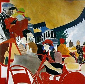 R.B. Kitaj, The Autumn of Central Paris (after Walter Benjamin)