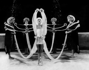 Nazimova in Salomé, 1923