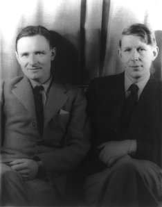Christopher Isherwood and W. H. Auden, 1939