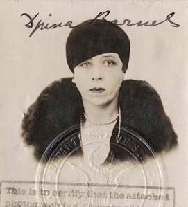 Djuna Barnes's passport photo, 1929