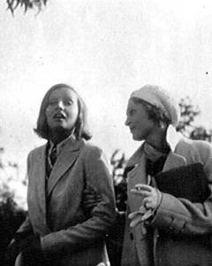 Greta Garbo and Salka Viertel