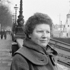 Janet Frame in London, early 1960s