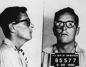 Ring Lardner, Jnr, prison mughsot, 1955