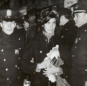Sontag arrested at Vietnam War protest, 1967