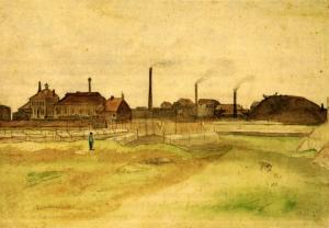 Vincent Van Gogh, Coalmine in The Borinage, 1879